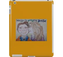 The Marty to my Jennifer iPad Case/Skin
