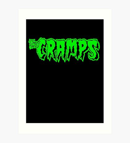 The Cramps (green) Art Print