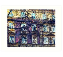Cracow architecture Art Print