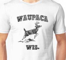 Waupaca Wis. - Original Black Unisex T-Shirt