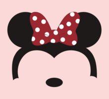 Minnie Red Bow Kids Tee