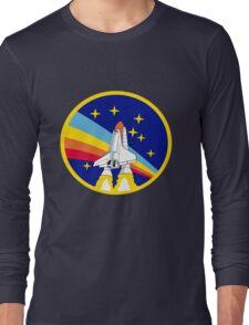 Space Shuttle Rainbow - Vintage Icon Long Sleeve T-Shirt