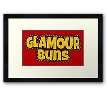 Sausage Party - Glam Buns Framed Print