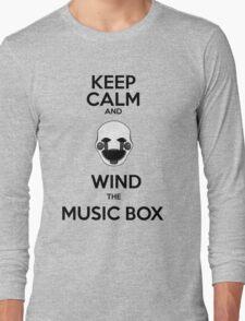 Keep calm puppet Long Sleeve T-Shirt