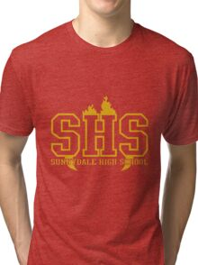 sunnydale high school t shirt Tri-blend T-Shirt