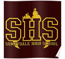 sunnydale high school t shirt Poster