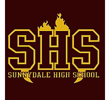 sunnydale high school t shirt Photographic Print