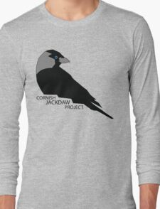 Cornish Jackdaw Project - logo Long Sleeve T-Shirt