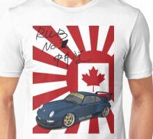 RWB Royal Ocean No. 1 Canada with signature Japan Flag Unisex T-Shirt