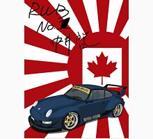 RWB Royal Ocean No. 1 Canada with signature Japan Flag Unisex T-Shirt