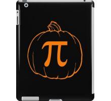 Pumpkin Pi (pie) Mathematics Humour iPad Case/Skin
