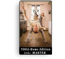Yoga Master Canvas Print