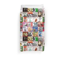 Agnetha from ABBA 45rpm singles massive collage duvet cover Duvet Cover