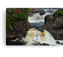 Potato River Falls 2 Canvas Print