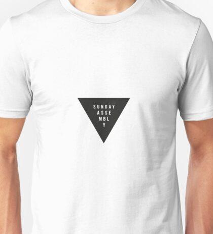 Sunday Assembly Black Triangle Unisex T-Shirt