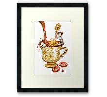Tea and Cookies Framed Print