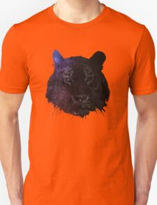 Space Tiger Cool Pretty Hipster Universe Unisex T-Shirt