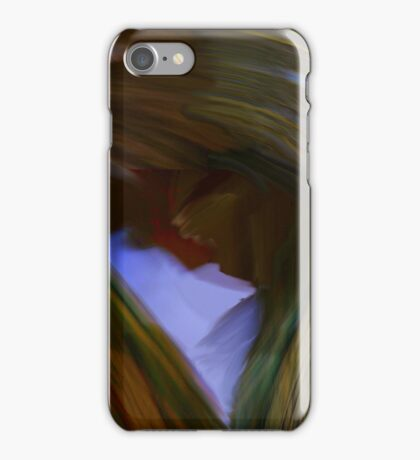 abstract polittico iPhone Case/Skin