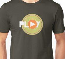 Play Record Cool Retro Music Art Unisex T-Shirt
