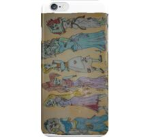 Zombies can be Pretty Too iPhone Case/Skin