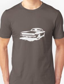 Charger Stencil - White T-Shirt