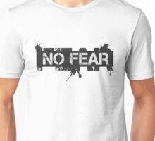 No Fear Badass Gym Workout Motivational Fitness Unisex T-Shirt
