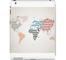 Person map iPad Case/Skin