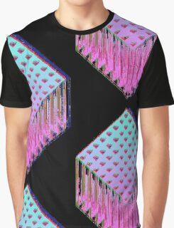 Trine-Glitch Graphic T-Shirt