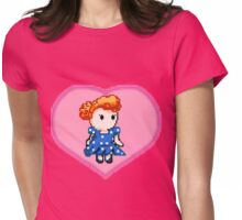 Lucy pixel  Womens Fitted T-Shirt