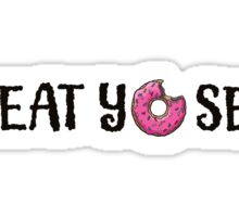 Treat yourself- donut Sticker