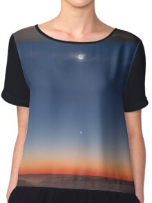 Mercury and the Moon Chiffon Top