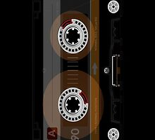 Retro Music Cassette Tape iPad Case / iPhone 5 Case / iPhone 4 Case  / Pillow / Tote Bag / Samsung Galaxy Cases / Duvet   by CroDesign
