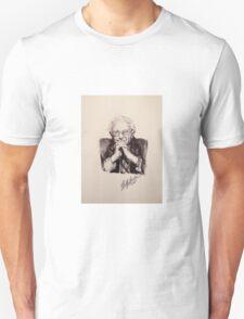 Bernie Sanders Portrait  Unisex T-Shirt