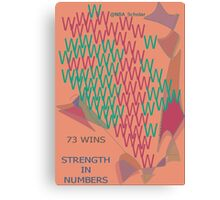 Warriors: Strength in numbers Canvas Print