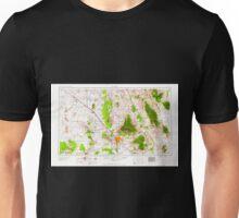 USGS TOPO Map Arizona AZ Tucson 315607 1959 250000 Unisex T-Shirt