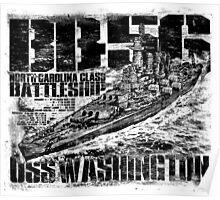 Battleship Washington Poster