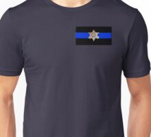 Maricopa County Sheriff Blue Line Unisex T-Shirt