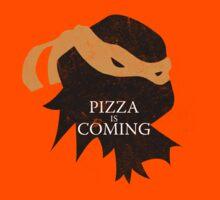 Pizza is Coming Kids Tee