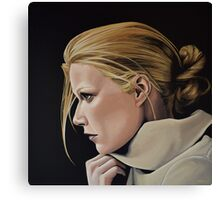 Gwyneth Paltrow Painting Canvas Print