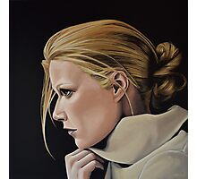 Gwyneth Paltrow Painting Photographic Print