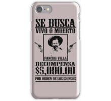 Pancho Villa iPhone Case/Skin