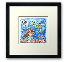 Dreaming with Dragons Framed Print