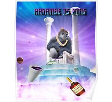 Harambe. Poster