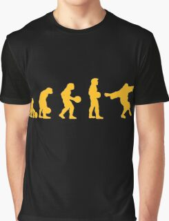 The Big Lebowski evolution yellow Graphic T-Shirt
