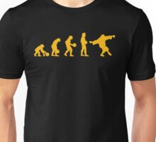 The Big Lebowski evolution yellow Unisex T-Shirt
