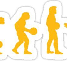 The Big Lebowski evolution yellow Sticker