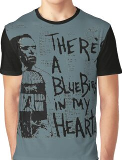 Bukowski Quote Graphic T-Shirt