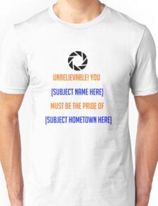 Portal - [Insert Shirt Here] Unisex T-Shirt