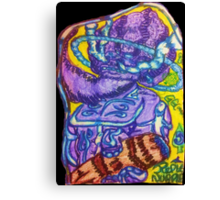 Ganja Guardians #3:Purple Nurple {Trippy} Canvas Print