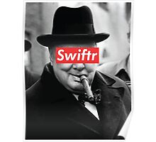 swiftr churchill Poster